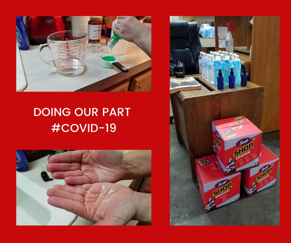 Hand Sanitizer Solution